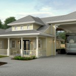 Rv Port Home Plans For Side Garage