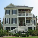 Charleston Style Home Plans For Narrow Lots