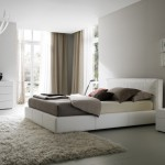 Bedroom Ideas For Women In Light Color Theme With Comfortable Rugs
