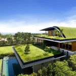 Eco Friendly Sky Garden Homeplans
