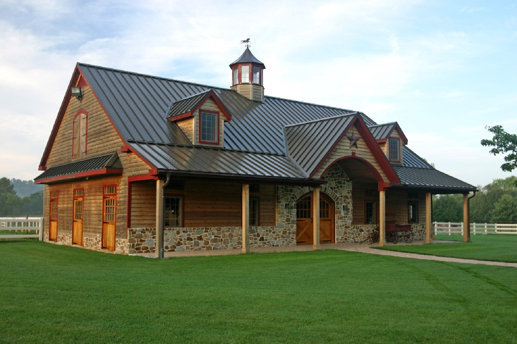 Bon Metal Barn House Plans