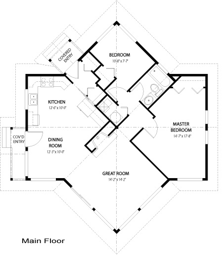 Small manufactured homes floor plans bee home plan for Unique small home plans
