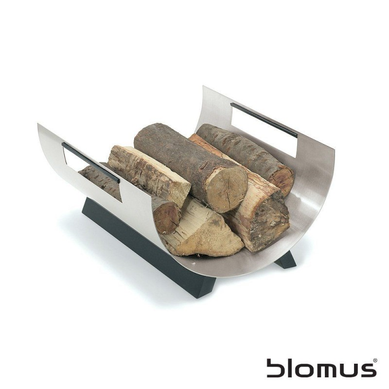 Blomus Stainless Steel Chimo Log Basket