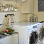 Best Vintage Laundry Room Ideas With Sink And Cabinets