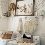 Contemporary Vintage Laundry Room Ideas