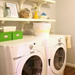 Small Vintage Laundry Room Ideas
