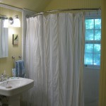 European Curved Shower Curtain Rod