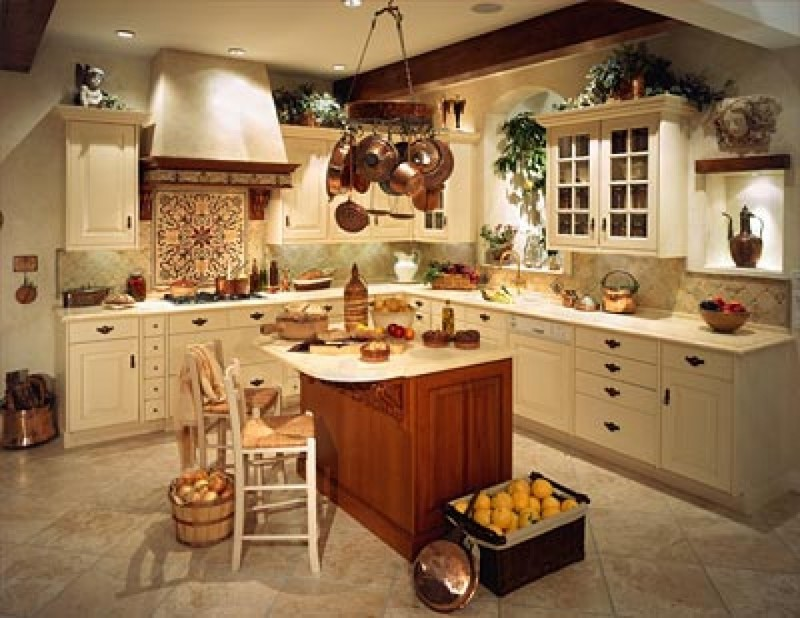 Italian kitchen decor ideas bee home plan home for The best kitchen designs