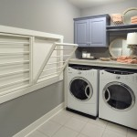 Laundry Room Hamper Cabinet