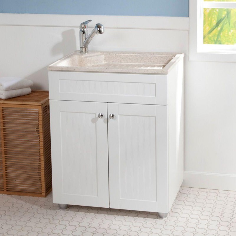 Laundry Room Utility Sink Cabinet Bee Home Plan Home decoration ...