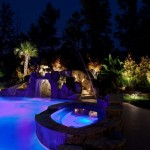 Low Voltage Landscape Lighting Tropical Pool Charlotte  Low Voltage Landscape Lighting Low Voltage Landscape Lighting