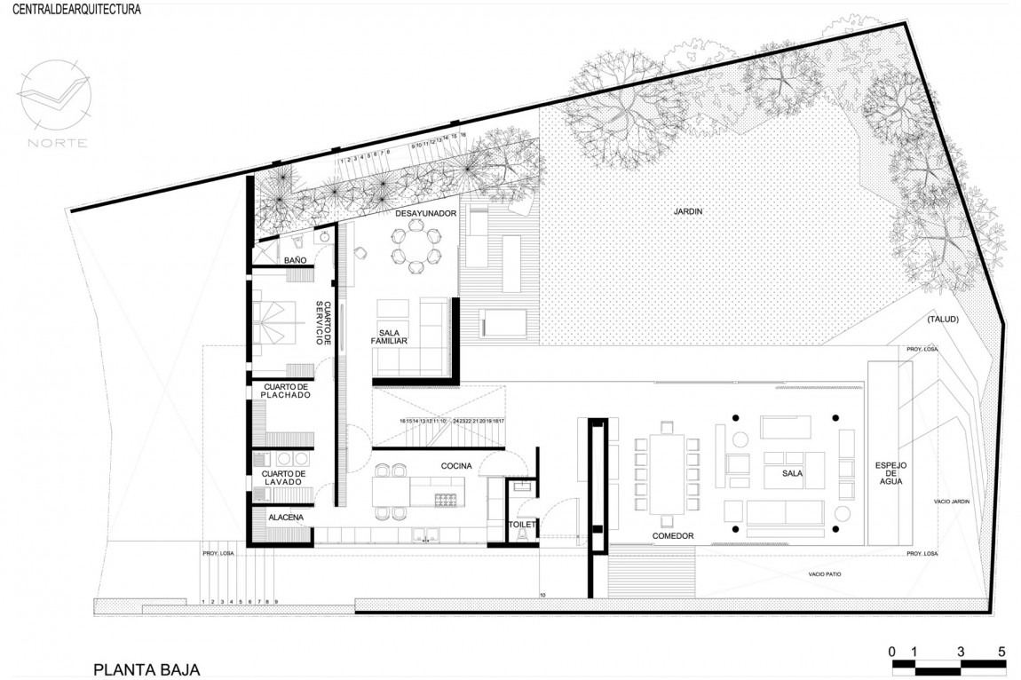 Minimalist house plans floor plans bee home plan home for Modern house layout plan
