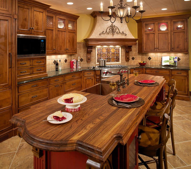 Best italian kitchen design with various styles bee home for Italian kitchen design