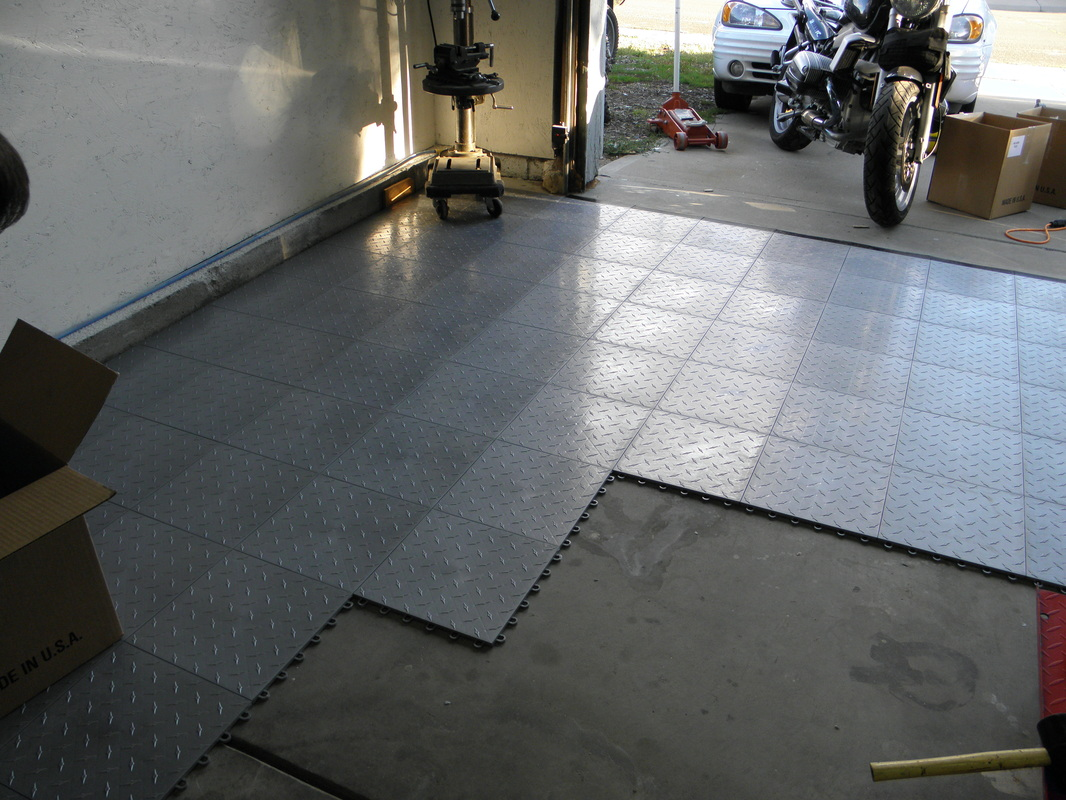 Garage floor covering to cover the floor bee home plan for Basement floor covering ideas