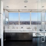 Modern Duplex Apartment Designed Manhattan 1