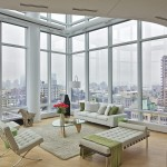 Modern Duplex Apartment Designed Manhattan 5