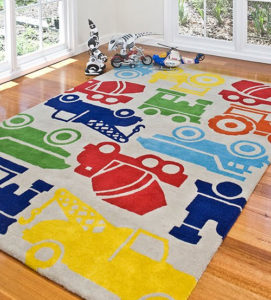 kid accent rugs