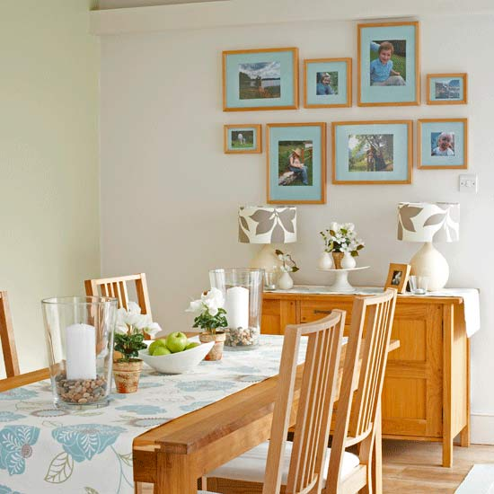 how to decorate a dining room on a budget