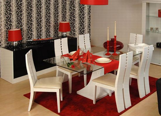 How to decorate a dining room on a budget bee home plan for Dinette table decorations