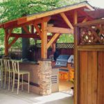 Outdoor Kitchen Roof Design 3