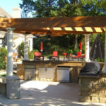 Outdoor Kitchen Roof Design 4
