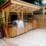 Outdoor Kitchen Roof Design 6
