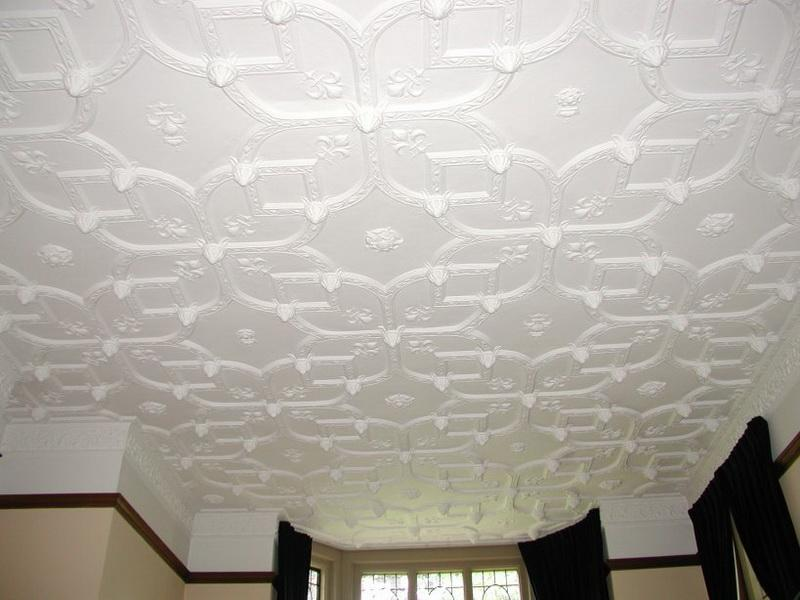Textured ceiling designs