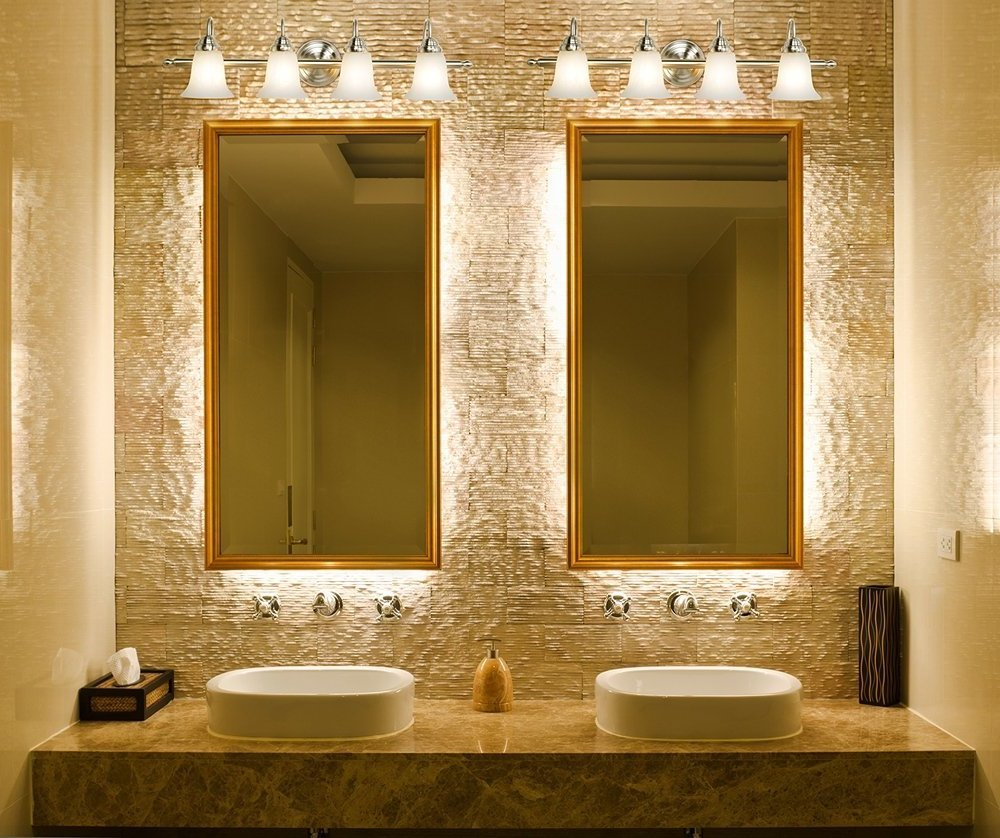 Bathroom vanity lighting design bee home plan home for Bathroom lighting design