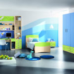 Contemporary Child Room For Summer 1