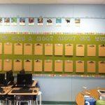 Clipboard Style Bulletin Board