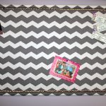 DIY Fabric Bulletin Board