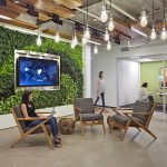 Office Wall Design Ideas With Nature Atmosphere