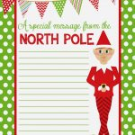 Posted Elf With Note
