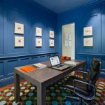 Blue Home Office Ideas