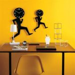 Creative Clocks On The Wall Office Ideas