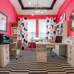 Pink Home Office Color Ideas