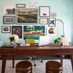 Office Decorating Ideas On A Budget Wall Painting